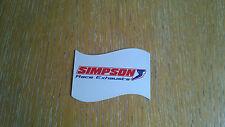 SIMPSON RACE EXHAUSTS, MAGNET BTCC AUTOGRASS HOT ROD BRISCA KIT CAR