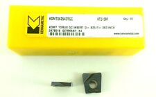 KENNAMETAL KDMT06254ERGC - KC515M DIE AND MOLD COPY MILLING BULLNOSE INSERT