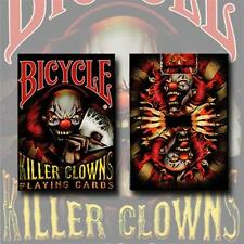 Bicycle Killer Clowns Playing Cards by Collectable Playing Cards - Trick - Magic
