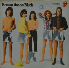 "ROLLING STONES - BROWN SUGAR - BITCH  RS 19100  7"" (J98)"