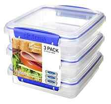 Sistema Food Storage Food Container Sandwich Container Plastic Container 3 Piece