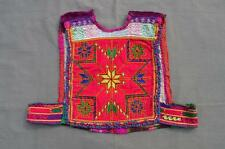 Kuchi Afghan Tribal Choli Vintage Belly Dance Handmade Stitchable Crop Top KC326
