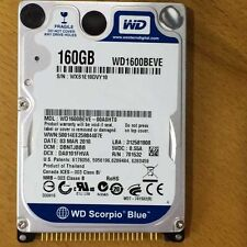 "Western Digital WD1600BEVE 160GB 5400RPM 2.5""PATA/IDE Hard Drive For laptop"