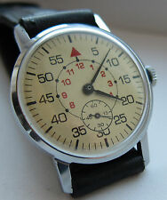 USSR. SOVIET wristwatch ZIM. The dial is white, the style for military pilots.