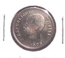 CIRCULATED 1905 5 CENTIMES HAITI COIN!!
