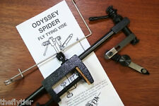GRIFFIN ODYSSEY SPIDER ROTARY VISE - with discount offer on fly tying tools