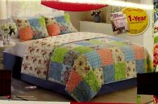 Better Homes and Gardens Multi-Color Vintage Bedding Quilt, Full/Queen, Floral