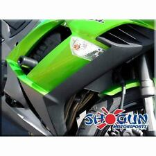Kawasaki 2011-17 Ninja 1000 Shogun Frame Sliders No Cut Version - Black