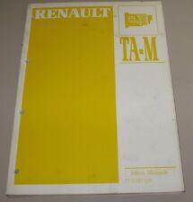 Werkstatthandbuch Renault Automatik Getriebe R5 19 Clio Twingo Fuego 20 21 25!