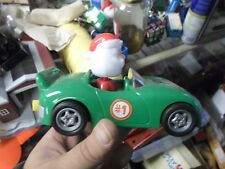 Plastic Santa Wheels Pull String Car with Gumballs By Hilco