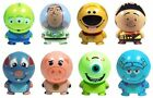 PIXAR DISNEY set 8 FIGURES BUILDABLES Monsters Inc Toy Story Buzz Lightyear UP
