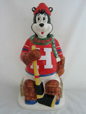 2001 Hamm's Beer Ted the Goalie Hockey Player  Bear Bank