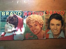 3x Bravo [1964]  Rex Gildo Tony Curtis Manuela Pierre Brice Paul Anka Beatles