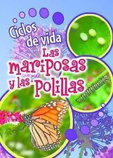 Ciclos de Vida de Las Mariposas y Las Polillas (Butterflies and Moths)-ExLibrary