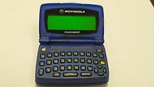 PROP PAGER - BLUE MOTOROLA T-900 - PROP OR AWESOME RETRO GAG GIFT TEXTING PAGER