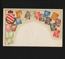 Early 1900's Postcard Monaco Early Issues No. 62 Unused