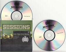 HARRY CHOO CHOO ROMERO Sessions UK promo test 2-CD Armand Van Helden Gus Gus