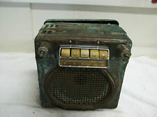 1946-47 Buick Radio w/Ivory Push Buttons