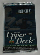 One (1) 1995 UPPER DECK Series 2 Hobby BASEBALL FOIL PACK - Nomo, Radke RC's