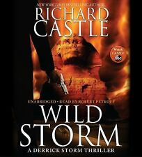 WILD STORM unabridged audio book on CD by RICHARD CASTLE