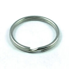 10 pcs 25mm Stainless Steel split key chain rings 1 inch