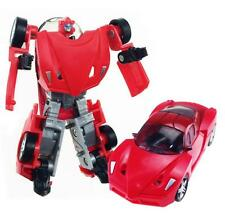 Fashion Twist Deformation Car Robot Vehicle Toy For Children Birthday gift