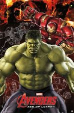 2015 MARVEL AVENGERS 2 MOVIE AGE OF ULTRON THE HULK  POSTER 22X34 NEW FREE SHIP