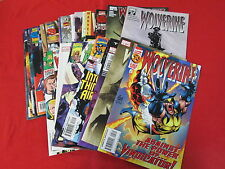 BACKSTOCK BLOWOUT - WOLVERINE GRAB BAG LOT 25 COMICS NO REPEATS HUGE DISCOUNT