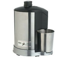 Waring Pro Brushed Stainless Steel Health Juice Extractor Carrot Apple JEX328