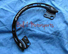 Custom Hayabusa Engraved Black Rear Passenger Grab Bar/Rail 99-02-03-04-05-06-07