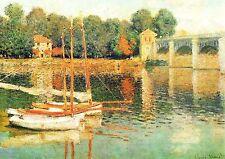Carte Postale Claude Monet - Le Pont d'Argenteuil