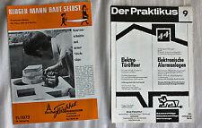 """""""Kluger Mann baut selbst"""" + """"Praktikus"""" von 1973"""
