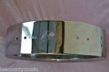 """1970's LUDWIG 13"""" 3.5X13 CHROME PICCOLO SNARE SHELL for YOUR DRUM SET! LOT #t481"""