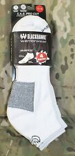 BLACKHAWK! Warrior Wear S.A.S. Tactical Low Athletic Cut Socks White Size 9-11
