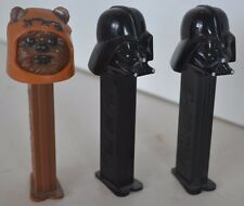 Vintage Star Wars Pez Lot of 3 Lot 48 Darth Vader Chewbacca