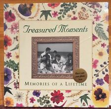 "Treasured Moments Memories of a Lifetime Photo Album 12"" x 12"" New Sealed"