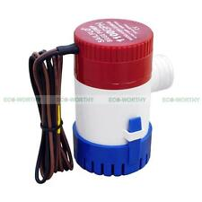 ECO Rule 1100GPH Submersible Marine Bilge Pump DC12V Boating Fishing