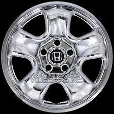 "4 CHROME 2012-16 Honda CRV 16"" Wheel Covers Rim Skins Hub Caps for Steel Wheels"