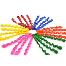 10pcs Mixed Color Screwed Spiral Shape Latex Balloons Celebration Party Decor