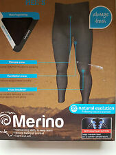 Mens Hiking Natural Merino Performance Trousers Outdoor Thermal  size XL