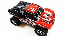 Vente r/c monster red Incredible Hunter X 2.4GHZ rc car racing buggy truggy camion