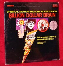 OST LP BILLION DOLLAR BRAIN  BENNETT 1967 UNITED ARTISTS SEALED MINT STEREO