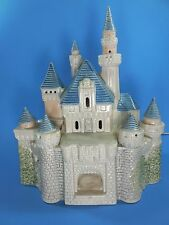 Disney Magic Kingdom Collection Castle Lights Up 30700 Figurine 1988 Village