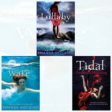 Amanda Hocking Watersong Series Collection 3 Books Set ,Wake, Lullaby, Tidal