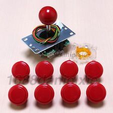 Arcade Diy Kits Parts Sanwa JLF-TP-8YT Joystick + GT Y + OBSF-30 Button For MAME