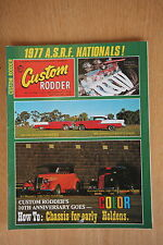 Custom Rodder No. 41 June July 1977 Ford Phaeton, Ford Anglia Tudor