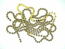 Bezel Set Rhinestone Chain Closeout 4MM Light Grey Opal 5FT (G-827)