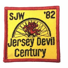 Vintage Bicycle Tour SJW New Jersey Devel Century Cycling Patch New Condition