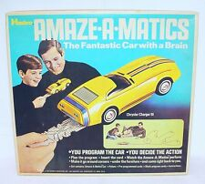 Hasbro AMAZE-A-MATICS CHRYSLER CHARGER III Battery Operated Toy Car MIB`69 RARE!