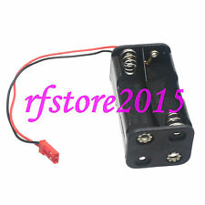 4 x AA Battery Box Holder With JST 2 Pin For Receiver RC Model